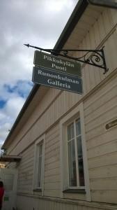 """Heta Saarelaisen """"jää tila muistojen asua""""-näyttely Runonkulman Galleriassa"""