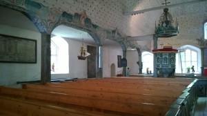 Uudenkaupungin vanha kirkko, joka rakennettiin 1600-luvulla